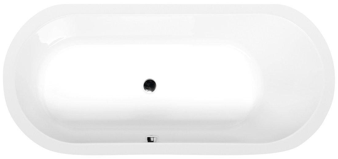 ASTRA O oválná vana 165x75x48cm, bílá